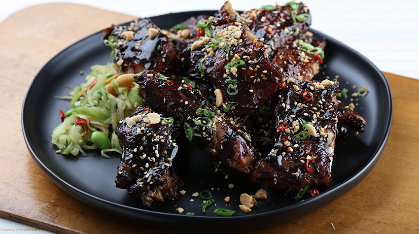 Asian Glazed Ribs