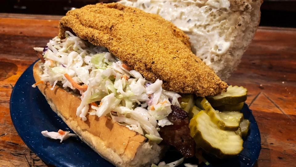 Southern Catfish Po Boy