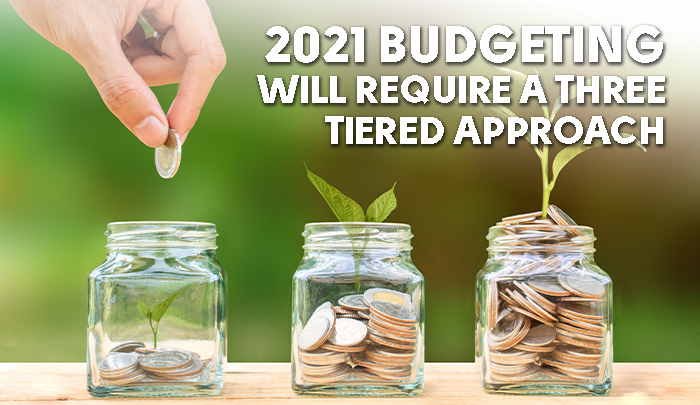 2021 Budgeting Will Require a Three-Tiered Approach