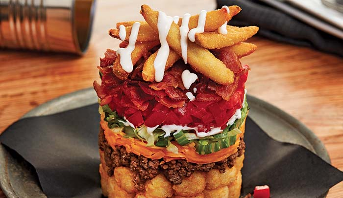 Cheeseburger Trashcan Tot-Chos