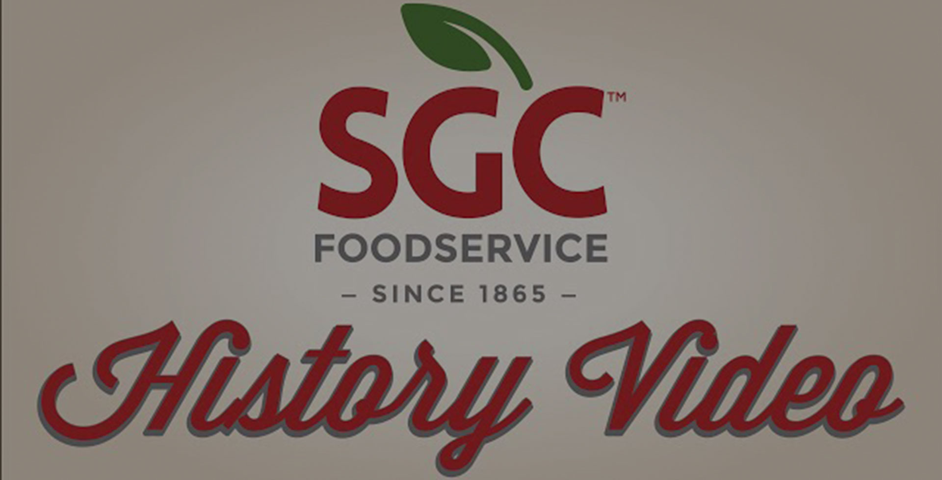SGC Foodservice History Video Background